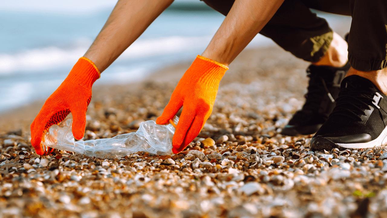 Runtime har vært i strandrydde-aksjon med Hold Norge Rent