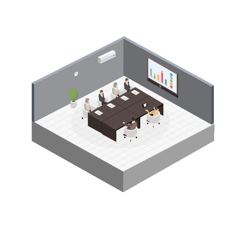 Møteromsoppsett - M